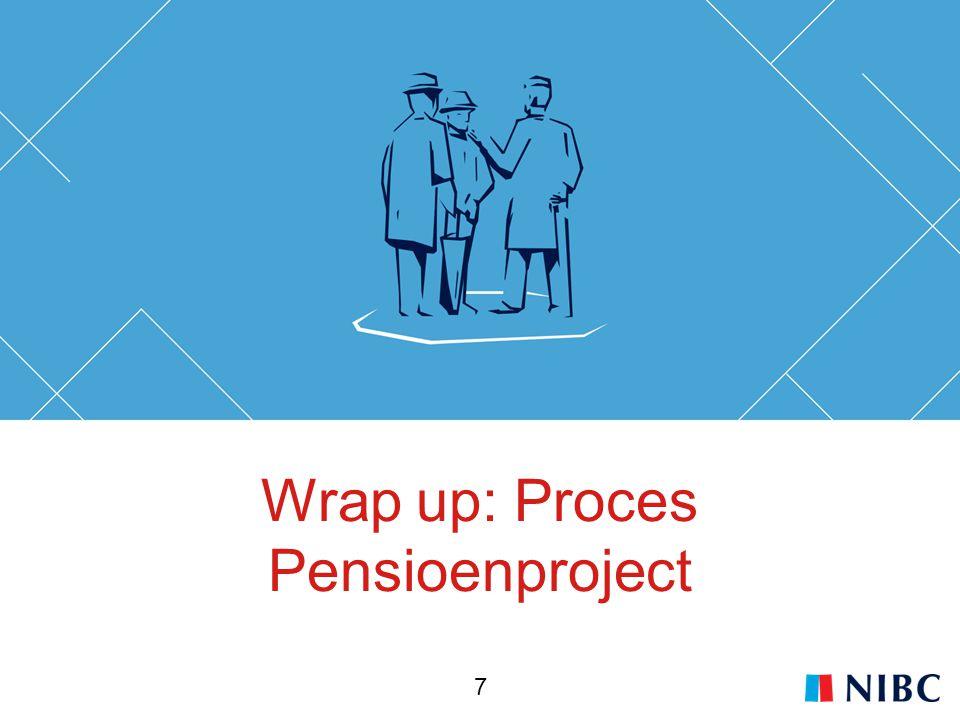 Wrap up: Proces Pensioenproject