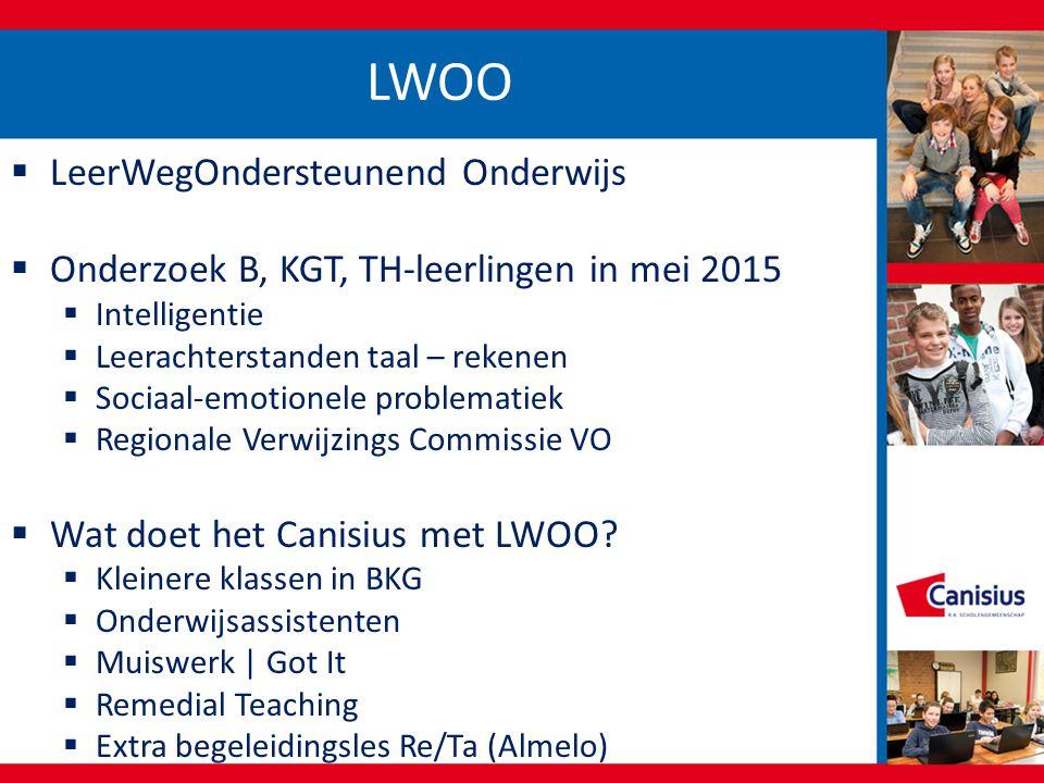 LWOO LeerWegOndersteunend Onderwijs