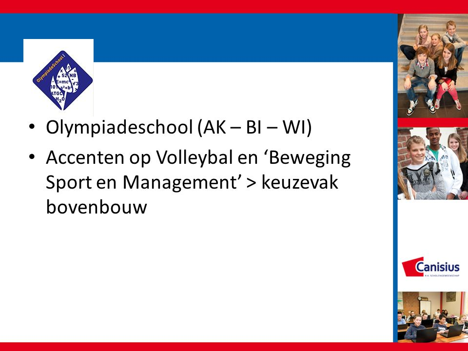 Olympiadeschool (AK – BI – WI)