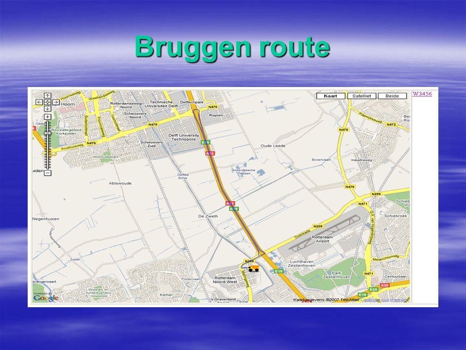 Bruggen route