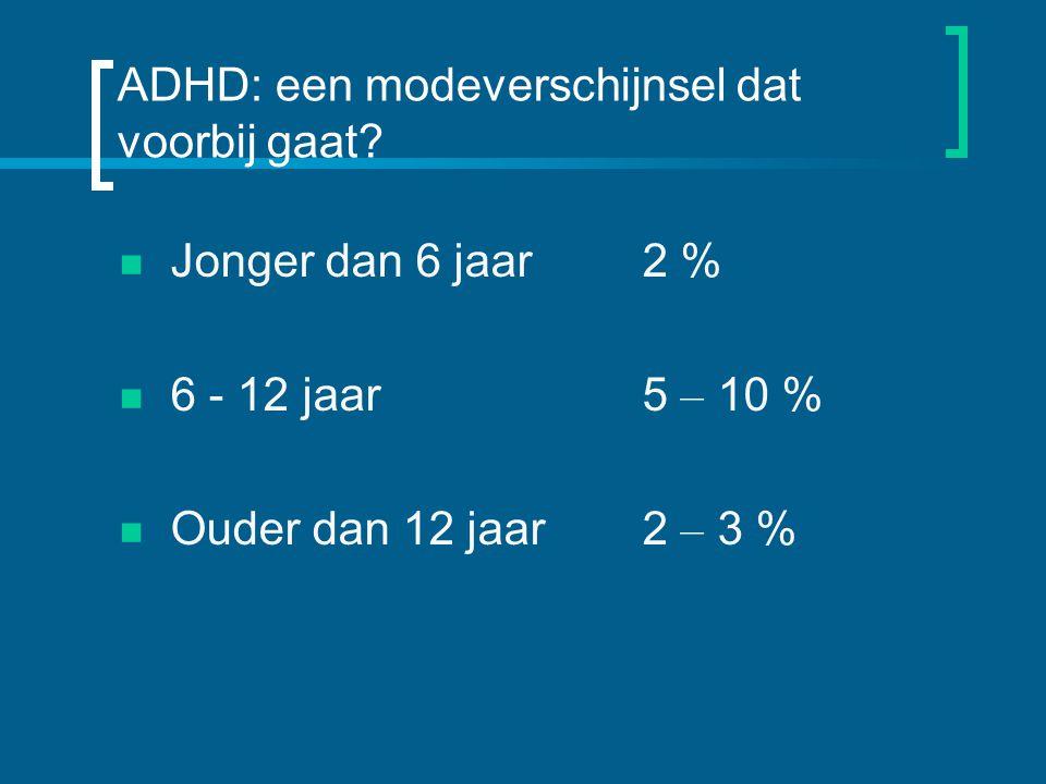 ADHD: een modeverschijnsel dat voorbij gaat