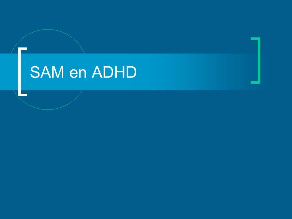 SAM en ADHD