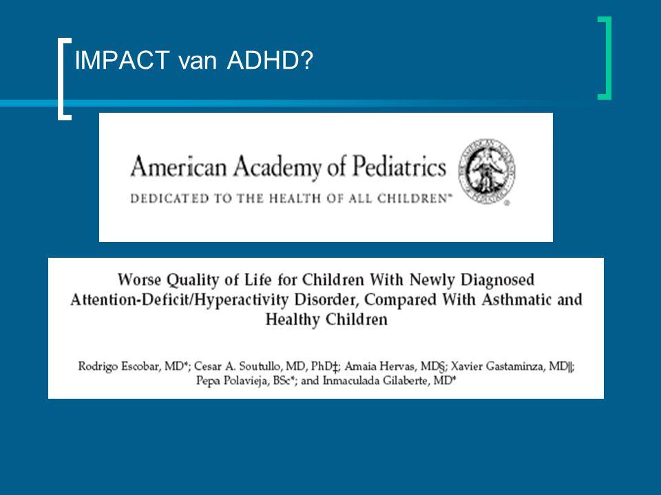 IMPACT van ADHD