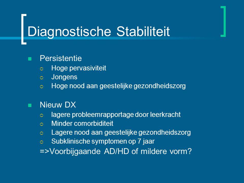 Diagnostische Stabiliteit