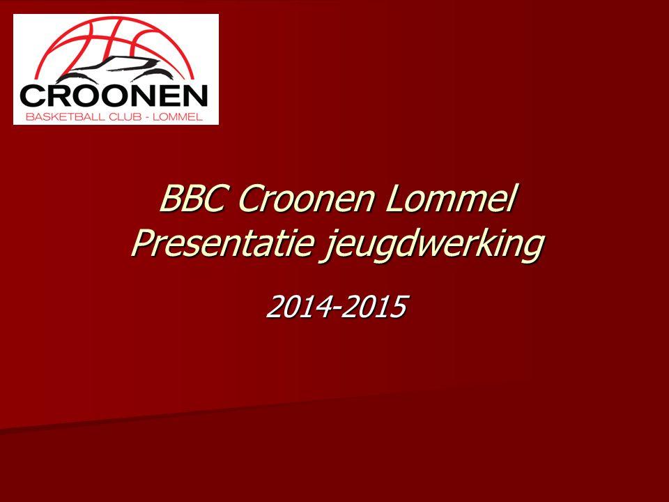 BBC Croonen Lommel Presentatie jeugdwerking