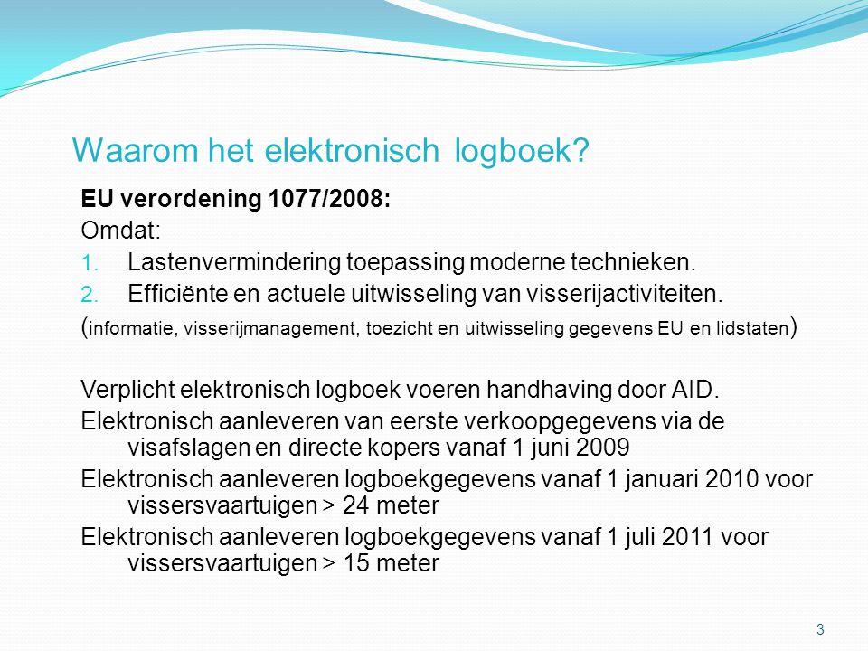 Waarom het elektronisch logboek