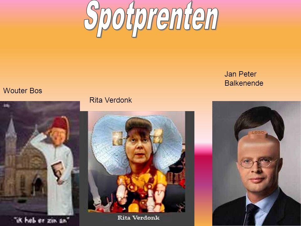 Spotprenten Jan Peter Balkenende Wouter Bos Rita Verdonk