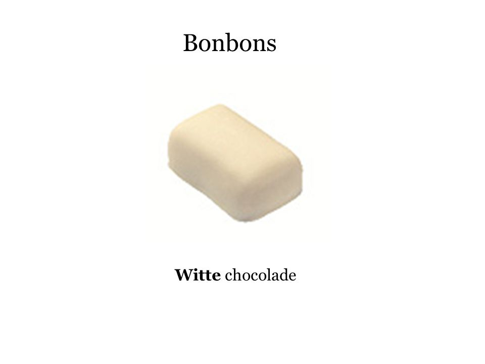Bonbons Witte chocolade