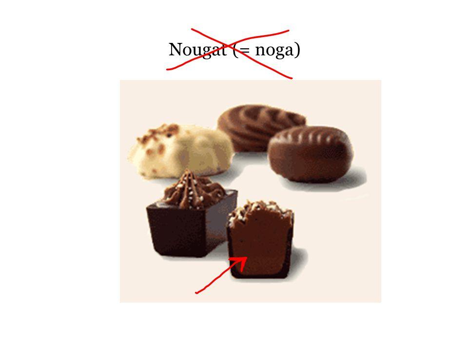 Nougat (= noga)