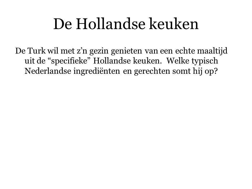 De Hollandse keuken