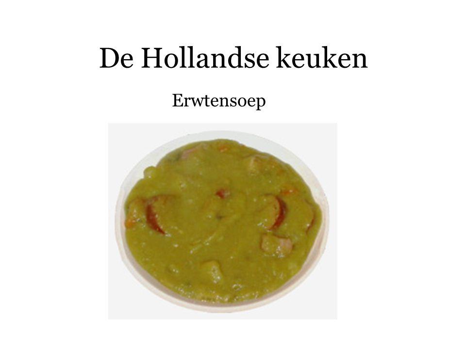 De Hollandse keuken Erwtensoep