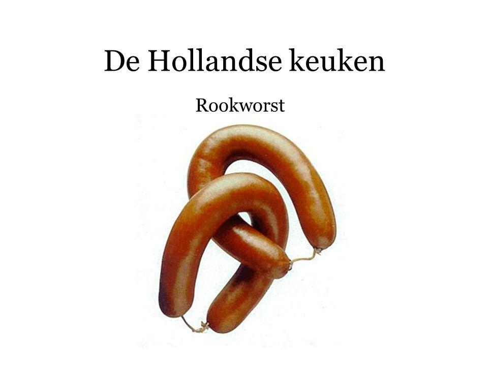 De Hollandse keuken Rookworst