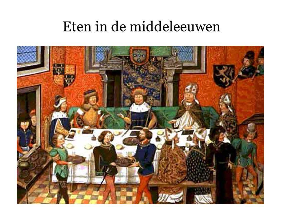 Eten in de middeleeuwen