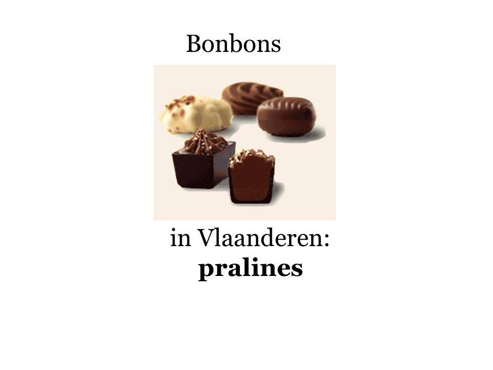 Bonbons in Vlaanderen: pralines