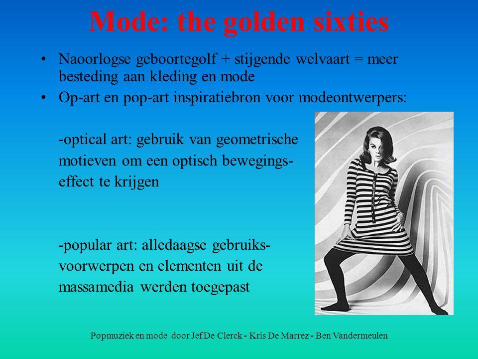 Mode: the golden sixties