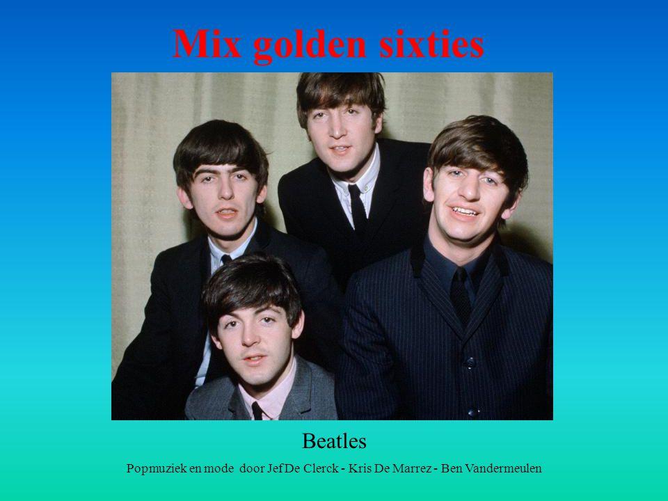 Mix golden sixties Beatles