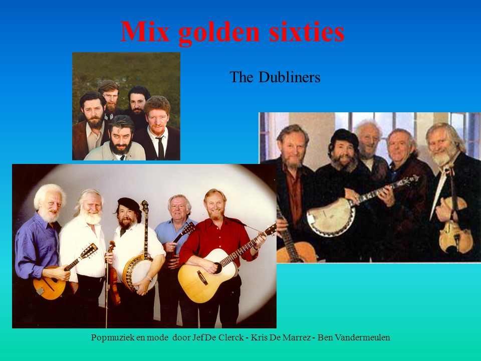 Mix golden sixties The Dubliners