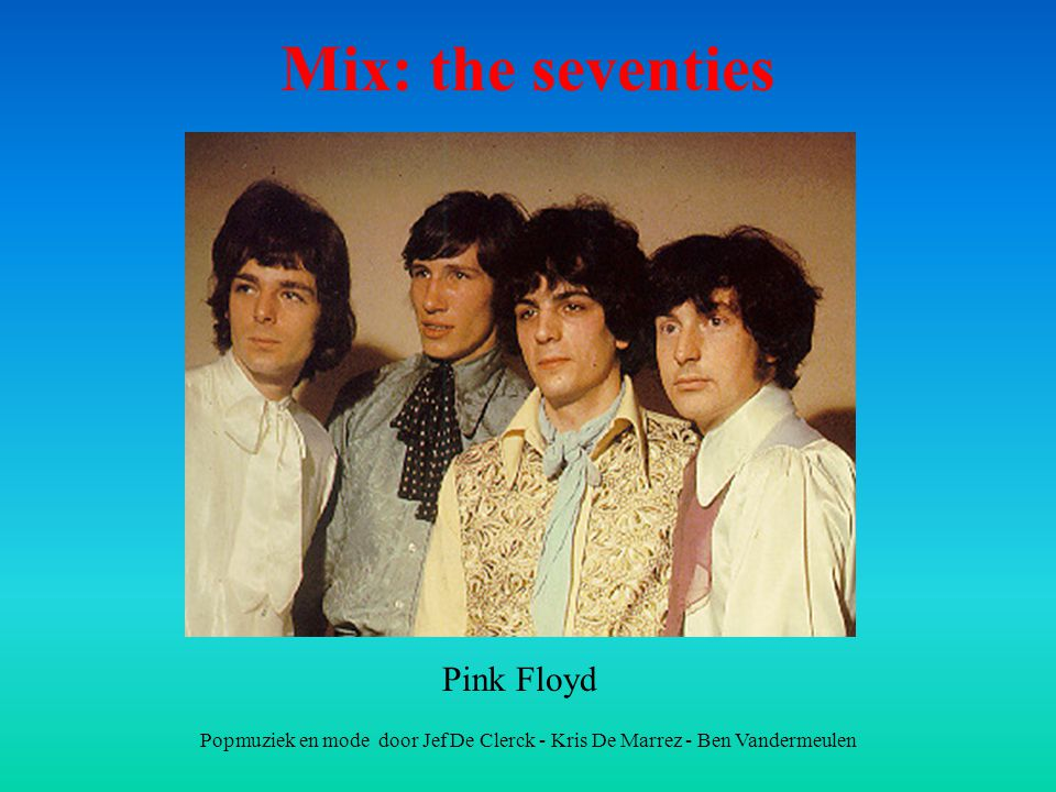 Mix: the seventies Pink Floyd