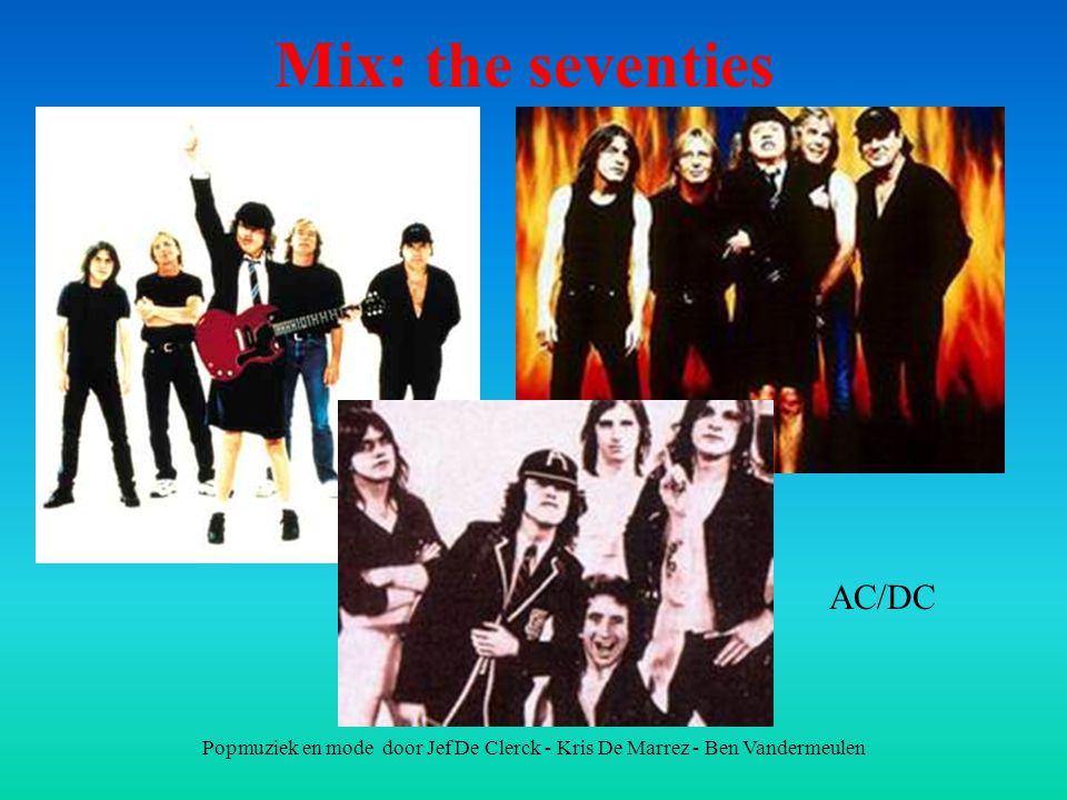 Mix: the seventies AC/DC