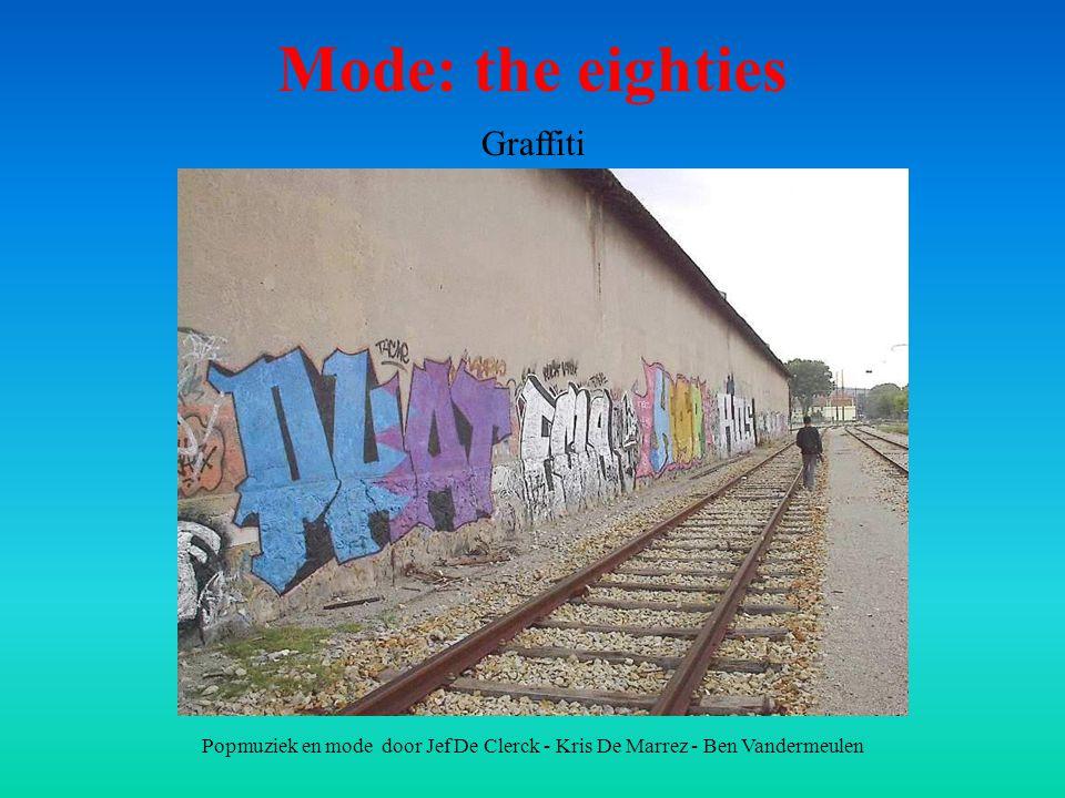 Mode: the eighties Graffiti