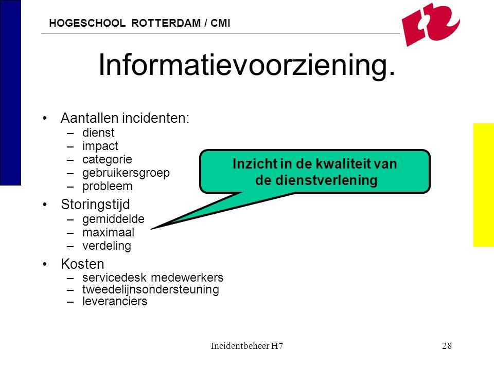 Informatievoorziening.
