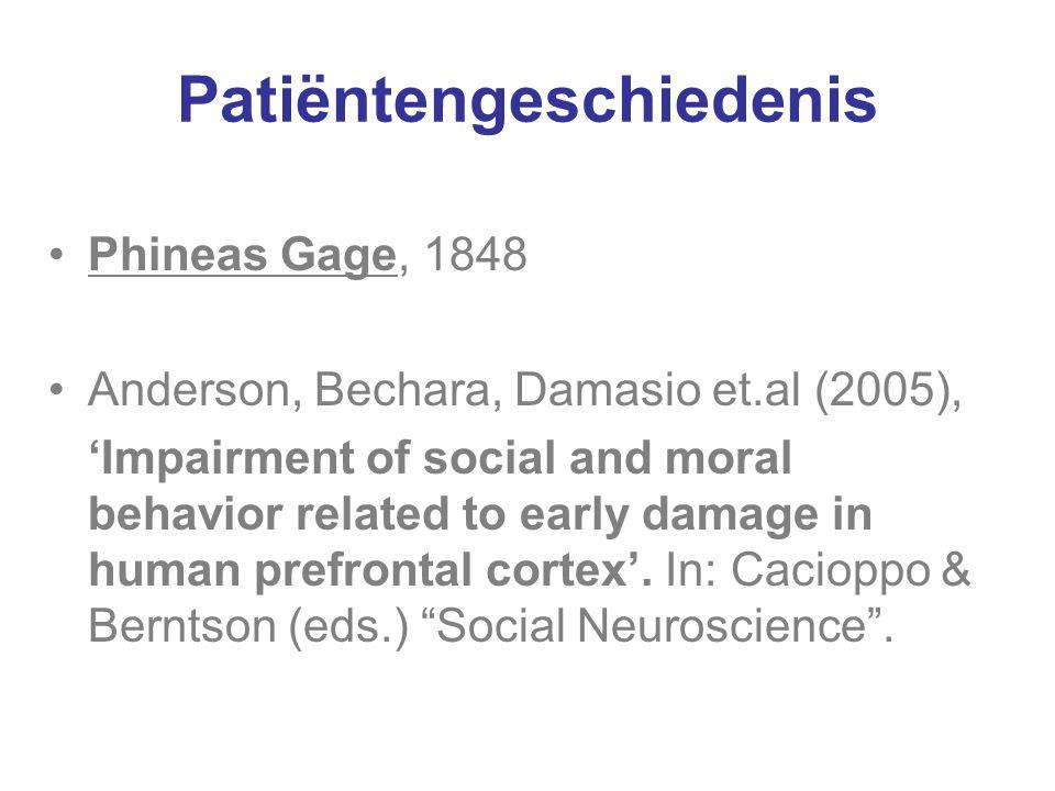 Patiëntengeschiedenis