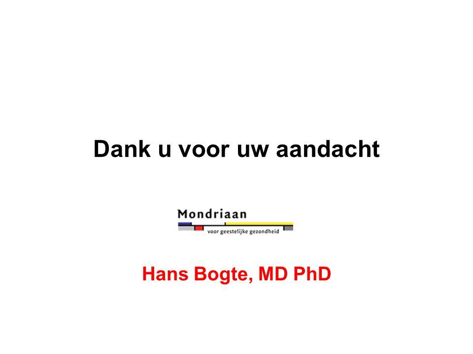 Dank u voor uw aandacht Hans Bogte, MD PhD