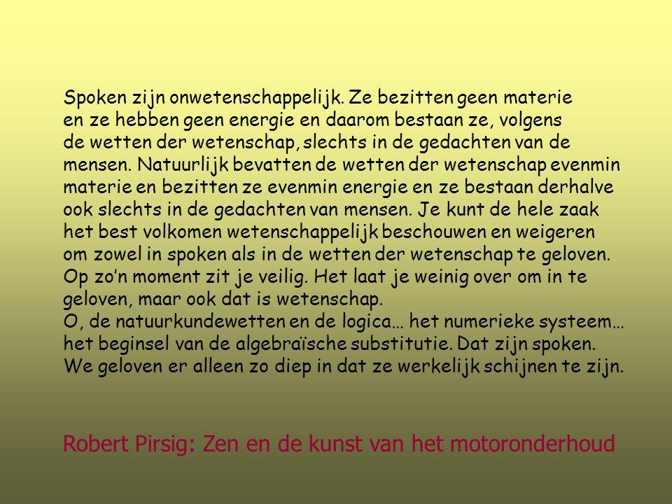 Robert Pirsig: Zen en de kunst van het motoronderhoud