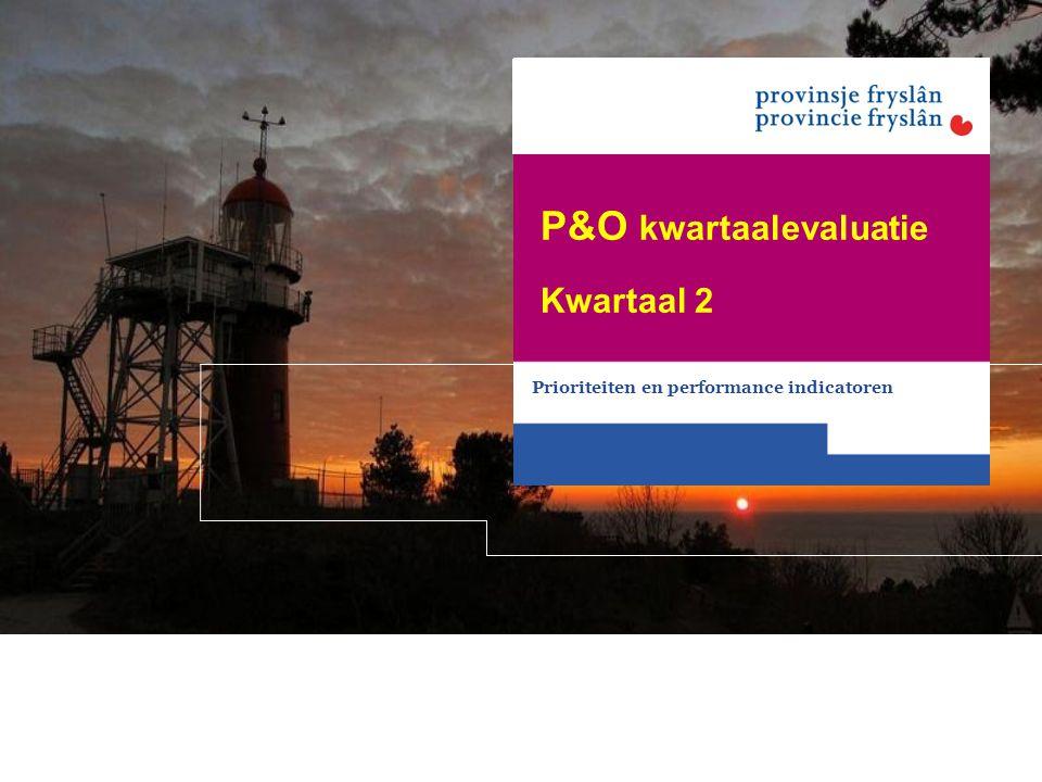P&O kwartaalevaluatie
