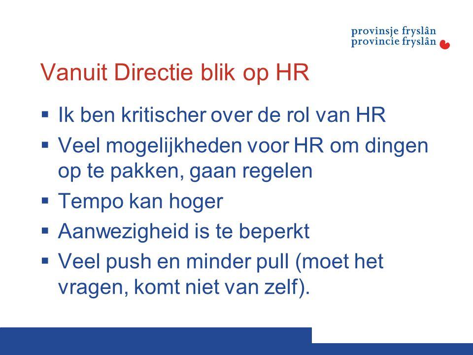 Vanuit Directie blik op HR