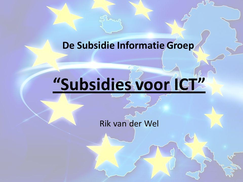De Subsidie Informatie Groep