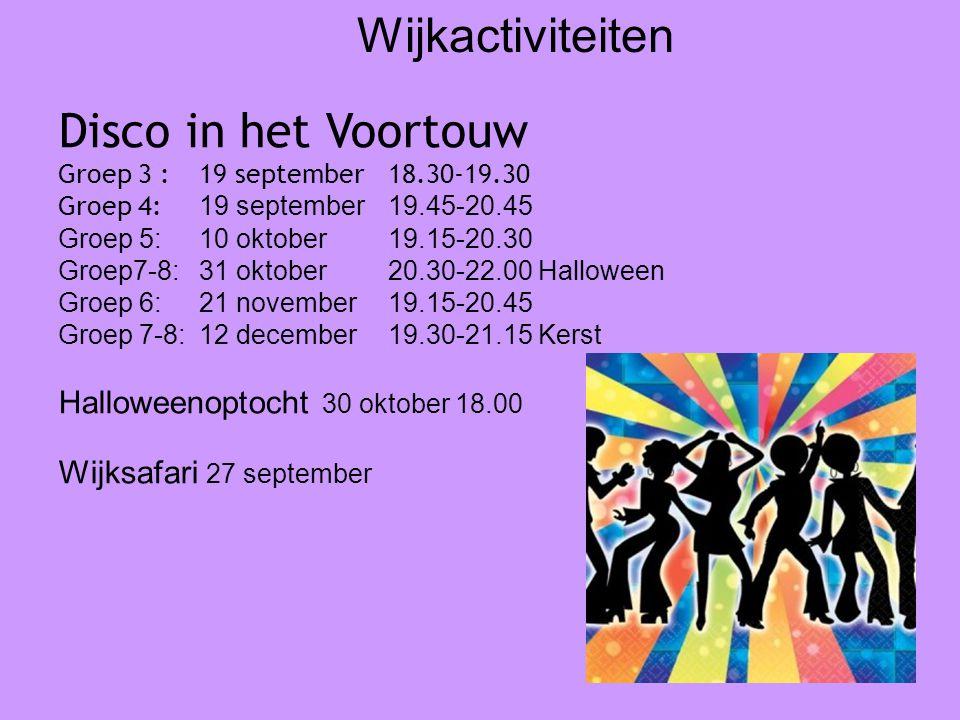 Wijkactiviteiten Disco in het Voortouw