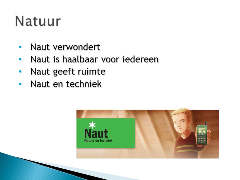 Natuur Naut verwondert Naut is haalbaar voor iedereen