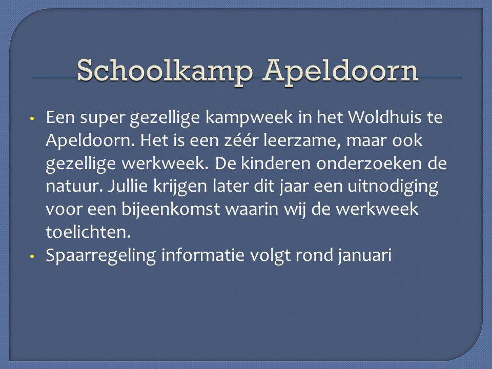 Schoolkamp Apeldoorn