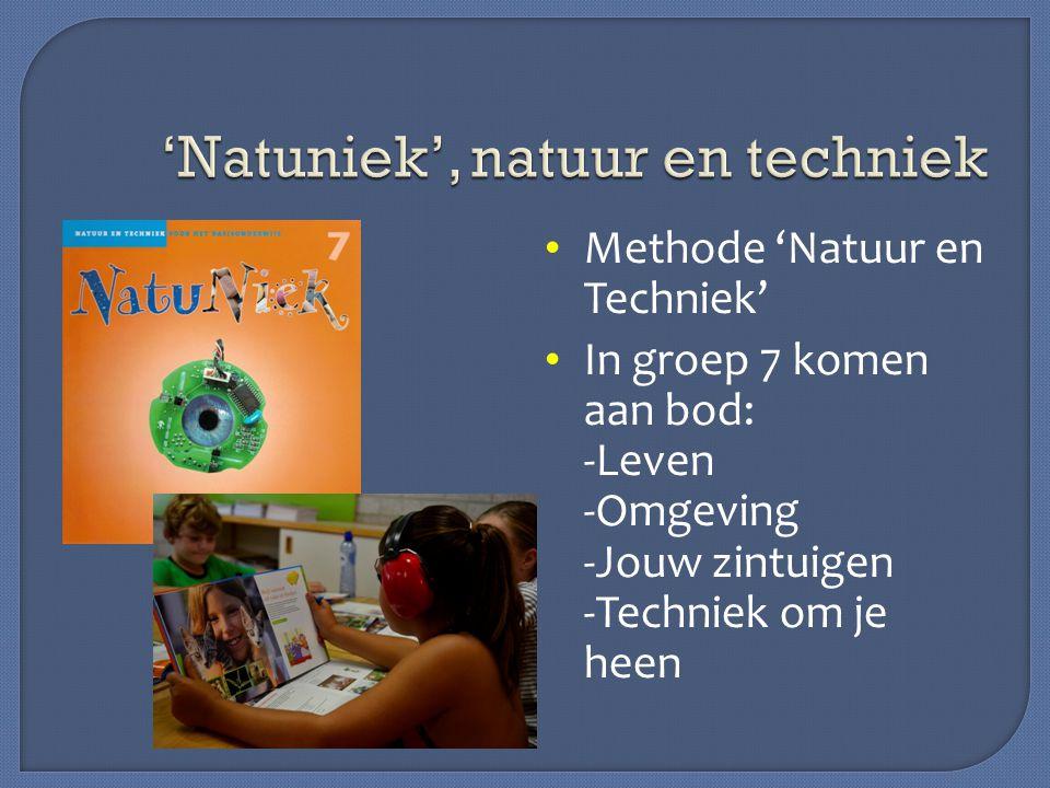 'Natuniek', natuur en techniek