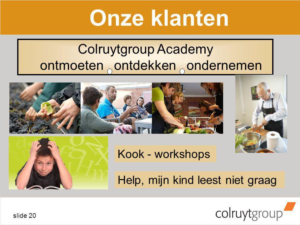 Colruytgroup Academy ontmoeten ontdekken ondernemen