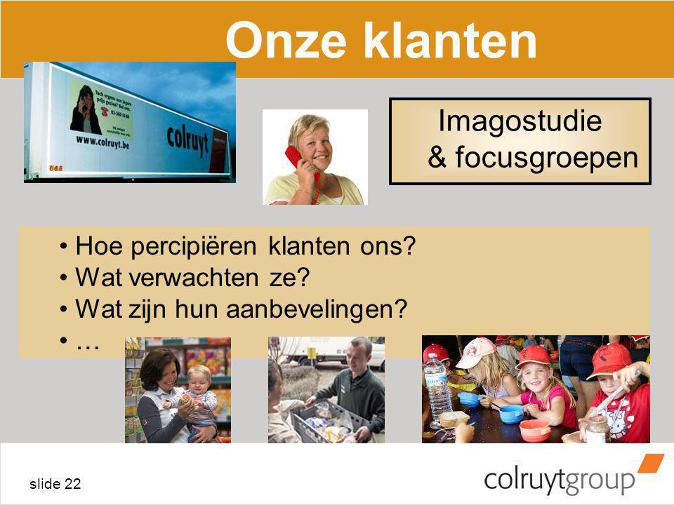 Imagostudie & focusgroepen