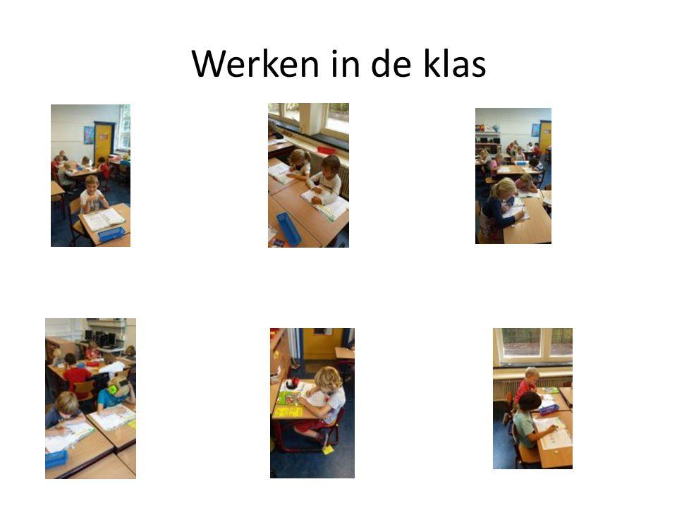Werken in de klas