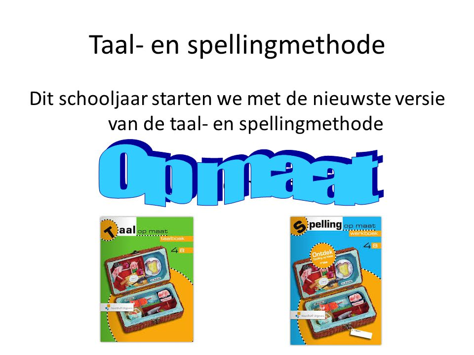 Taal- en spellingmethode