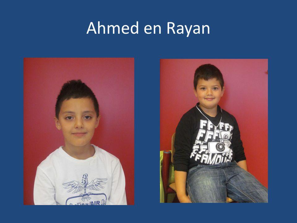 Ahmed en Rayan