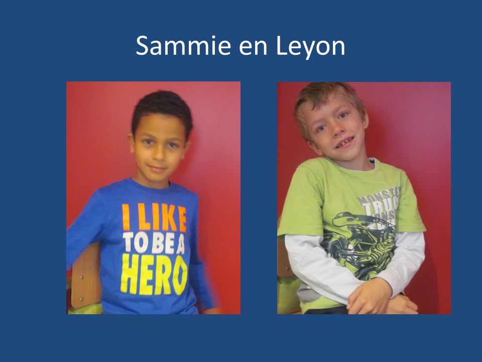 Sammie en Leyon