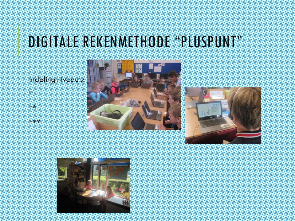 Digitale rekenmethode pluspunt
