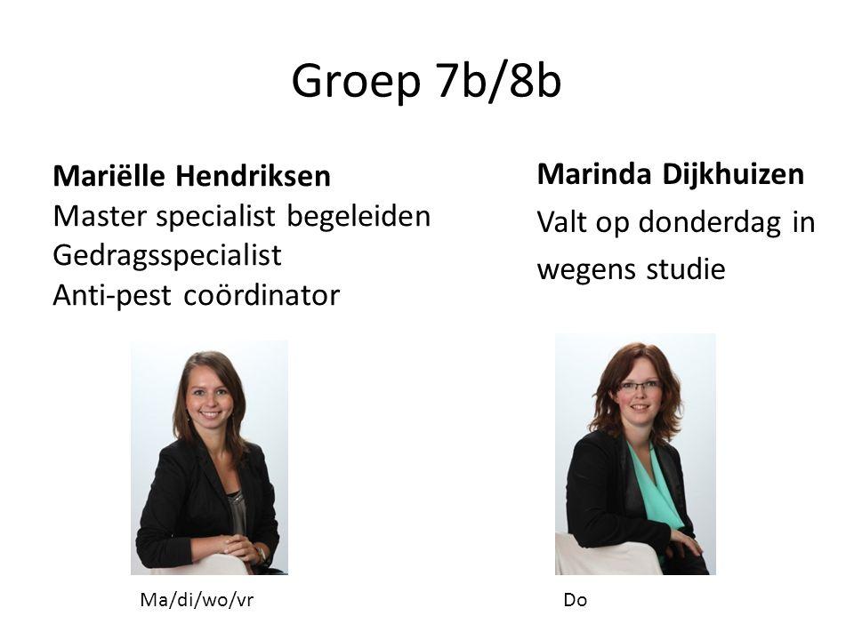 Groep 7b/8b Marinda Dijkhuizen Mariëlle Hendriksen