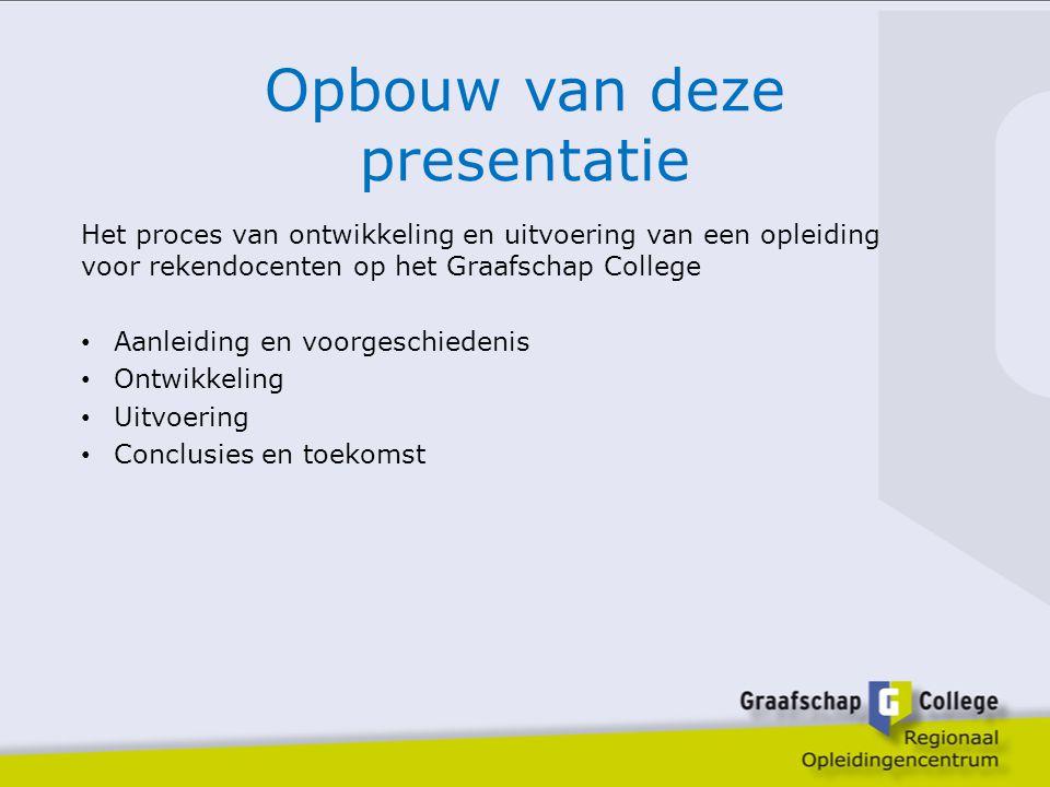 Opbouw van deze presentatie