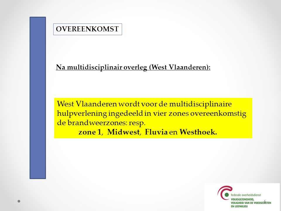 West Vlaanderen wordt voor de multidisciplinaire