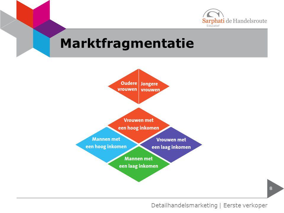Marktfragmentatie Detailhandelsmarketing | Eerste verkoper
