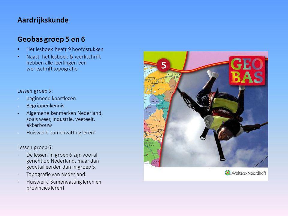 Aardrijkskunde Geobas groep 5 en 6