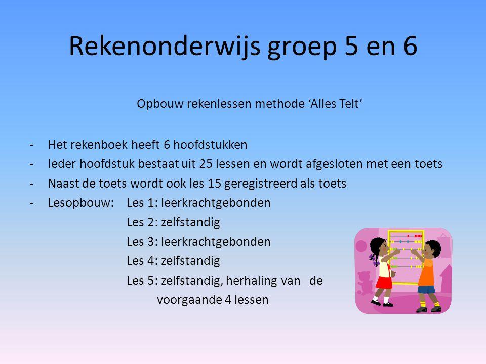 Rekenonderwijs groep 5 en 6