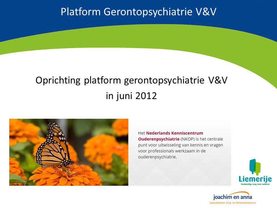 Platform Gerontopsychiatrie V&V
