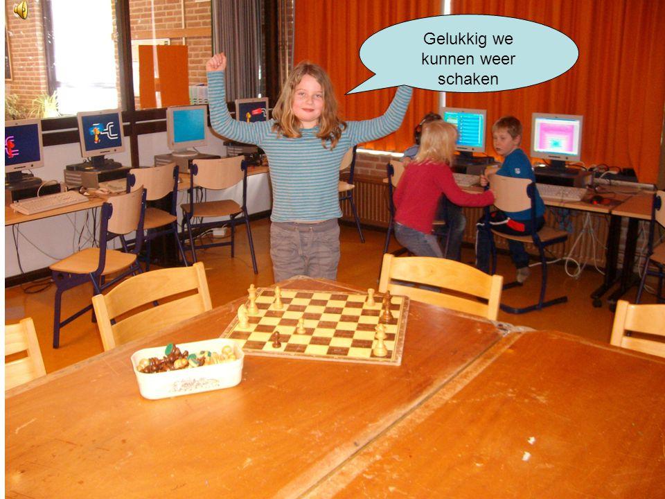 Gelukkig we kunnen weer schaken
